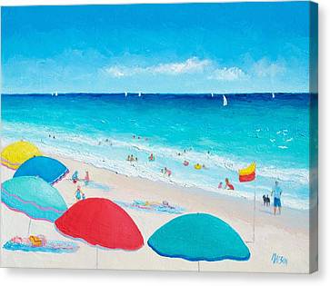 The Weather Is Sweet Canvas Print by Jan Matson