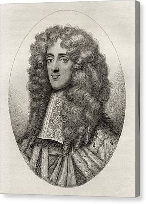 Thomas Osborne 1st Duke Of Leeds Earl Canvas Print by Vintage Design Pics