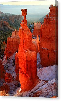 Thor's Hammer In Bryce Canyon Canvas Print by Pierre Leclerc Photography