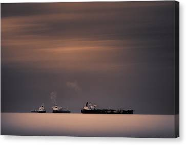 Three Sisters Canvas Print by Giulio Zanni