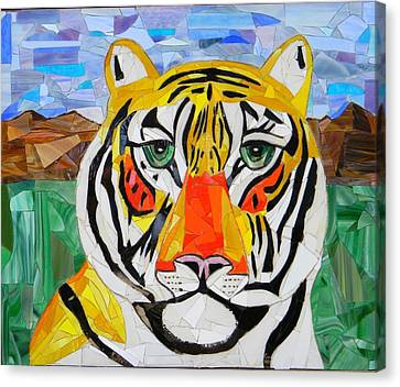 Tiger Canvas Print by Charles McDonell