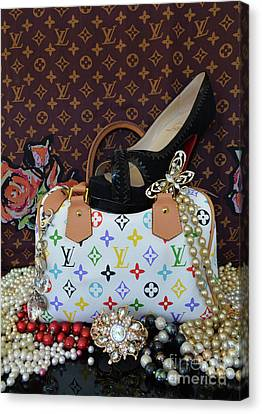 Timeless Beautiful Accessories 41 Canvas Print by To-Tam Gerwe