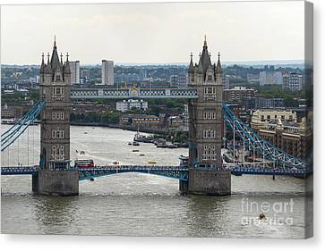 Tower Bridge Canvas Print by Svetlana Sewell