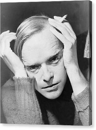 Truman Capote 1924-1984, Southern Canvas Print by Everett