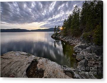 Tubbs Sunset Canvas Print by Idaho Scenic Images Linda Lantzy