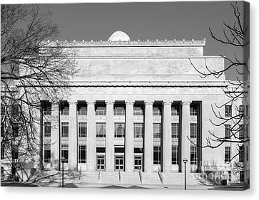 University Of Michigan Angell Hall  Canvas Print by University Icons