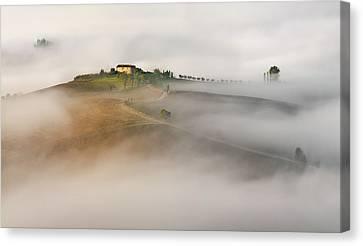 Untitled Canvas Print by Izidor Gasperlin