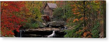 Usa, West Virginia, Glade Creek Grist Canvas Print by Panoramic Images