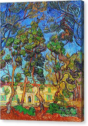 Van Gogh: Hospital, 1889 Canvas Print by Granger
