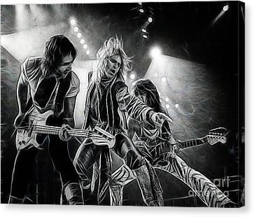 Van Halen Collection Canvas Print by Marvin Blaine