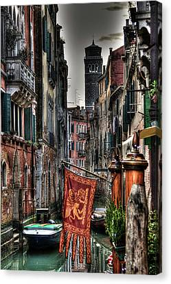 Venice Canvas Print by Andrea Barbieri