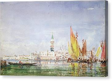 Venice Canvas Print by Felix Ziem