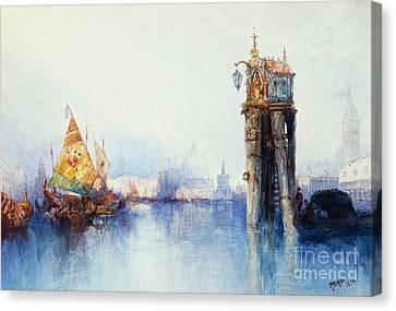 Venice Canvas Print by Thomas Moran