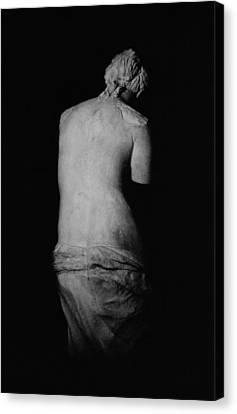 Venus De Milo Canvas Print by Greek School