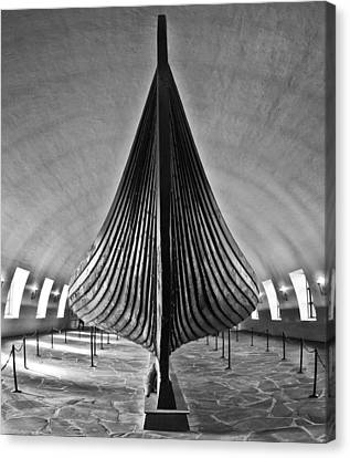 Vikingship Canvas Print by A A