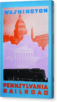 Washington Dc Vi Canvas Print by David Studwell