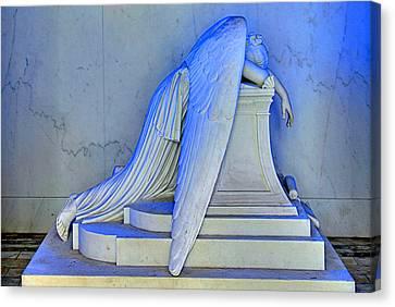 Weeping Angel Canvas Print by Ellis C Baldwin