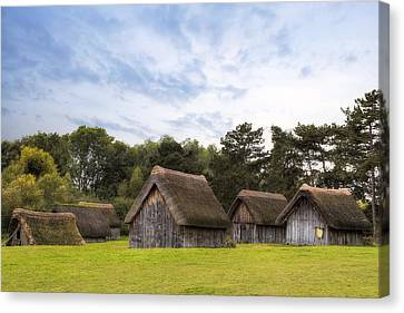 West Stow Anglo-saxon Village - England Canvas Print by Joana Kruse