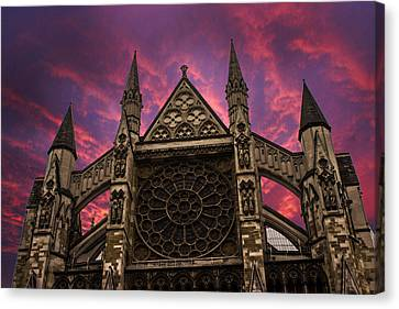 Westminster Abbey Canvas Print by Martin Newman