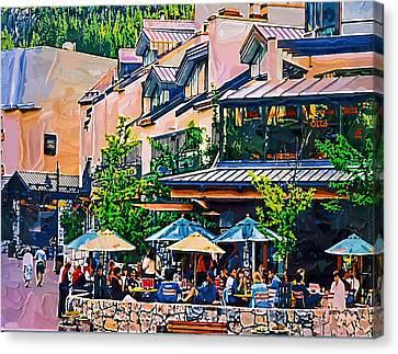 Whistler Canvas Print by Dale Stillman