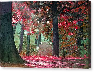 Woods  Canvas Print by Mark Ashkenazi