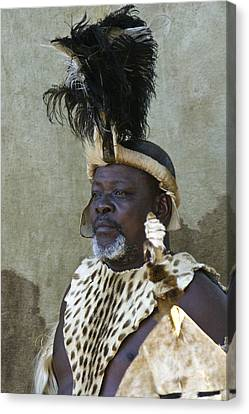 Zulu Dignity Canvas Print by Michele Burgess
