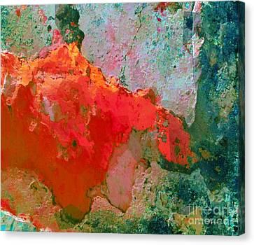 Goree Texture - Exploring Canvas Print by Fania Simon