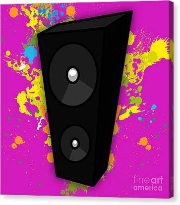 Music Canvas Print by Marvin Blaine
