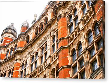 London Building Canvas Print by Tom Gowanlock