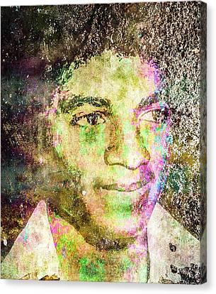 Michael Jackson Canvas Print by Svelby Art