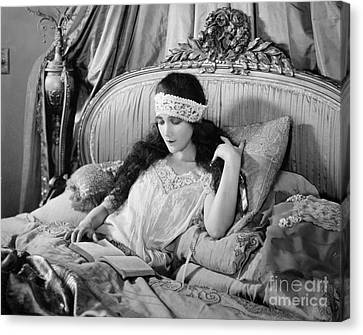 Silent Film Still: Woman Canvas Print by Granger