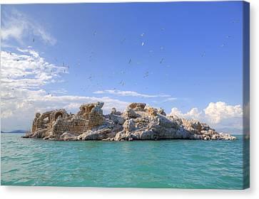 Lake Beysehir - Turkey Canvas Print by Joana Kruse