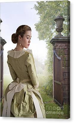 Victorian Woman Canvas Print by Lee Avison