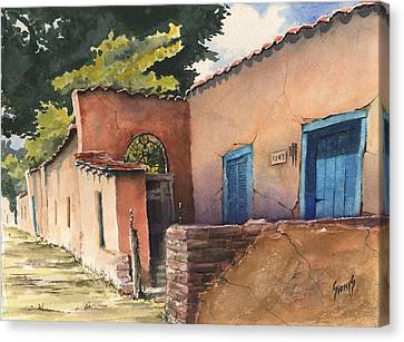 1247 Agua Fria Street Canvas Print by Sam Sidders