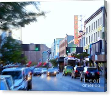 125th Street Harlem Nyc Canvas Print by Ed Weidman