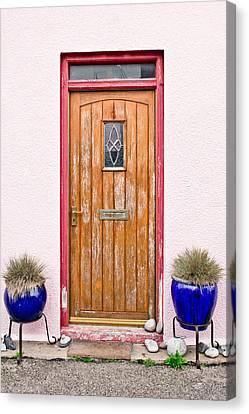 Front Door Canvas Print by Tom Gowanlock