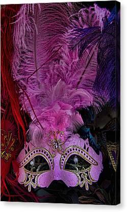 Venetian Carnaval Mask Canvas Print by David Smith