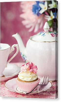 Afternoon Tea Canvas Print by Ruth Black