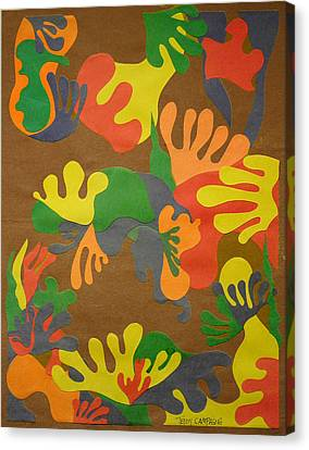 Untitled Canvas Print by Teddy Campagna