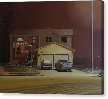 15698 168th Ave. S.e. Canvas Print by Thu Nguyen
