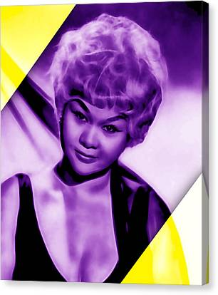 Etta James Collection Canvas Print by Marvin Blaine