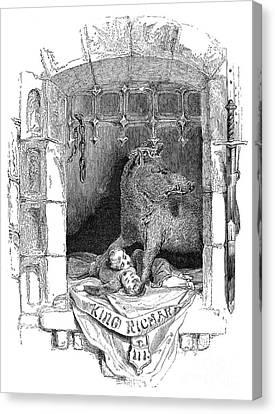 Shakespeare: Richard IIi Canvas Print by Granger