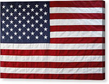 Usa  Canvas Print by Les Cunliffe