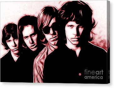 The Doors Collection Canvas Print by Marvin Blaine