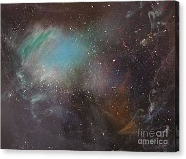 170,000 Light Years From Home Canvas Print by Lorraine Centrella