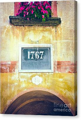 1767 Canvas Print by Silvia Ganora