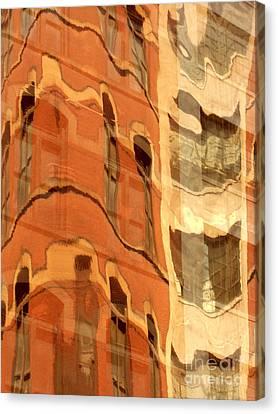 Abstract Canvas Print by Tony Cordoza