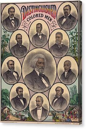 1883 Print Commemorating Canvas Print by Everett
