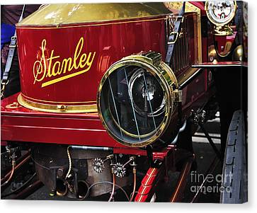 1907 Stanley Steamer Canvas Print by Kaye Menner