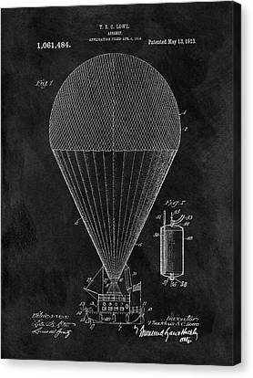 1913 Airship Patent Canvas Print by Dan Sproul